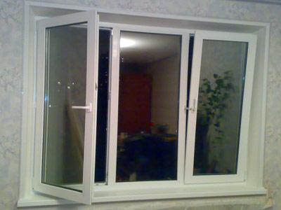 Цены на трехстворчатые окна.