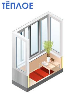 Цены на остекление балконов и лоджий в москве: холодное и тё.